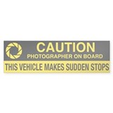 WA Photographer's Bumper Car Sticker