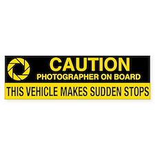 WA Photographer's Bumper Sticker v2