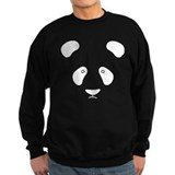 Panda struck by lightning Sweatshirt