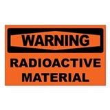 RADIOACTIVE MATERIAL Decal