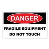 FRAGILE EQUIPMENT Decal