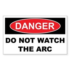 DO NOT WATCH THE ARC Decal