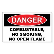 COMBUSTABLE Decal