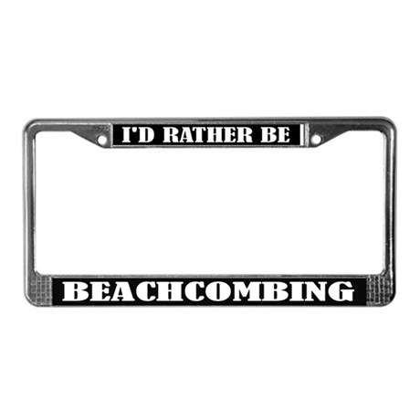 Beachcombing License Frame