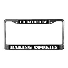 Baking Cookies License Frame