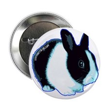 "RABBIT 2.25"" Button (100 pack)"
