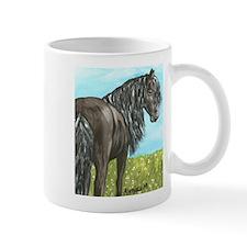 FRIESIAN HORSE PAINTING Mug