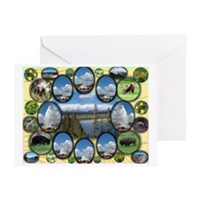 Yellowstone Park Greeting Card