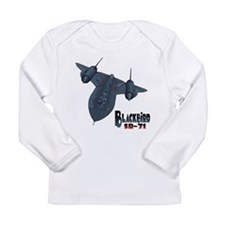 Funny Aircraft Long Sleeve Infant T-Shirt