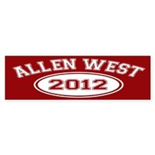 Allen West 2012 Bumper Sticker