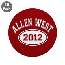 "Allen West 2012 3.5"" Button (10 pack)"