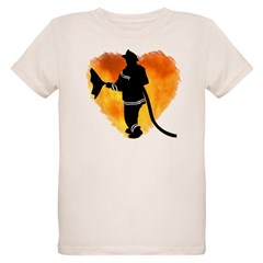Firefighters and Flames Organic Kids T-Shirt