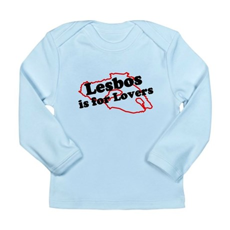 Lesbos is for Lovers Long Sleeve Infant T-Shirt