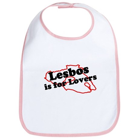 Lesbos is for Lovers Bib