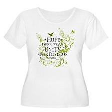 Obama Vine - Hope over Division T-Shirt