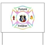 Future Firefighter Pastel Yard Sign