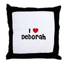 I * Deborah Throw Pillow