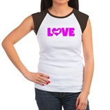 LOVE DACHSHUND (LONGHAIRED) Tee