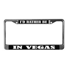 Vegas License Frame