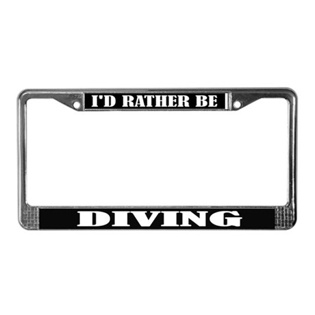 Diving License Frame