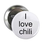 I love chili Button