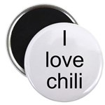 I love chili Magnet