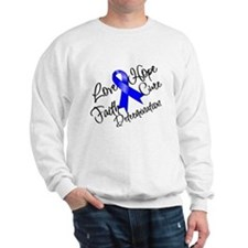 Love Hope Colon Cancer Sweatshirt