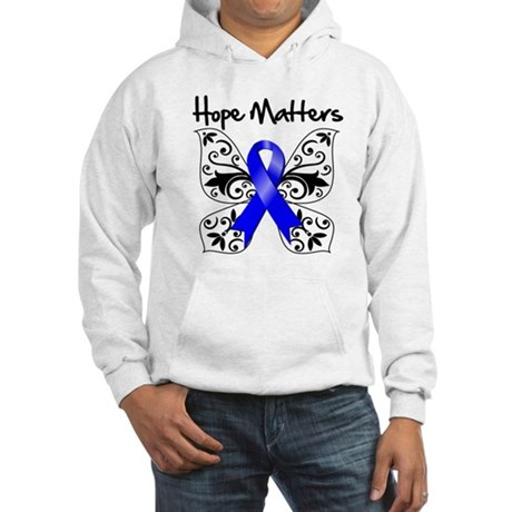 Hope Matters Colon Cancer Hooded Sweatshirt