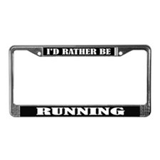 Running or Runner License Frame