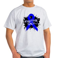 Fighting Back Colon Cancer Light T-Shirt