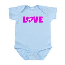 LOVE BERGER PICARD Infant Bodysuit
