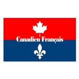 Canadien Francais Decal