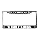 Yodeling License Frame