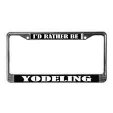 Yodeling License Frame