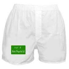 Exit 9, New Brunswick, NJ Boxer Shorts
