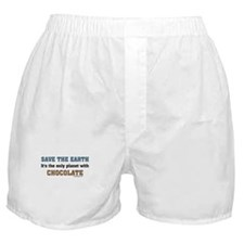 Save the earth! It's the only Boxer Shorts