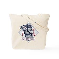 Baseball Classic Hitter Tote Bag