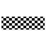 Checkered Flag Car Sticker