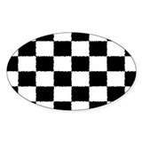 Checkered Flag Bumper Stickers