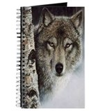 Cute Wolf Journal