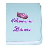 PRINCESS baby blanket