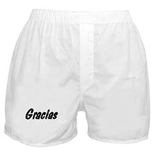 Spanish Thank You Boxer Shorts