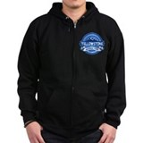 Yellowstone Blue Zip Hoody