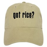 got rice? Baseball Cap