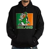 Irish leprechaun rugby Hoody