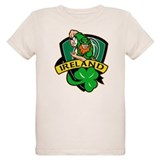 Irish leprechaun rugby T-Shirt
