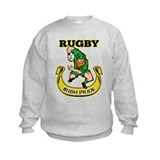 Irish leprechaun rugby Sweatshirt