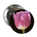 "Pink Tulip 2.25"" Button"