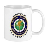 FAA Certified Sport Pilot Coffee Mug