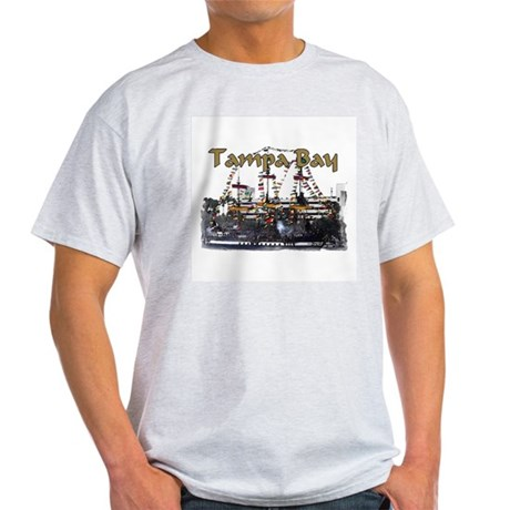 Tampa Palms Black Ash Grey T-Shirt